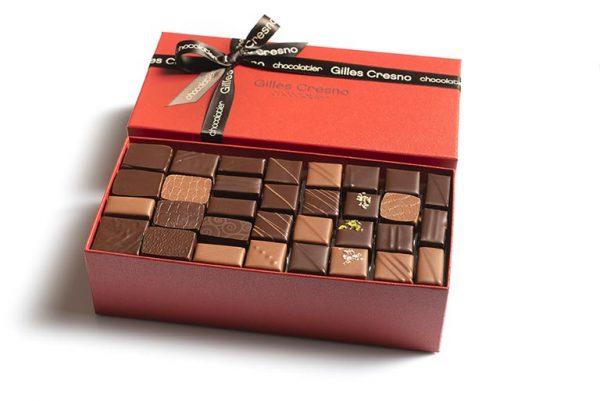 ballotin chocolats livraison cadeau artisanal
