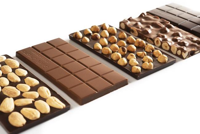 tablettes chocolats