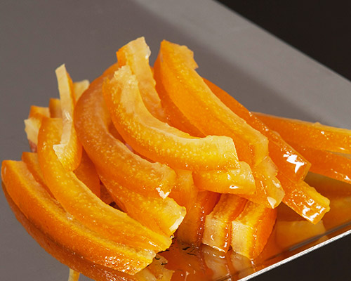 orangettes enrobage