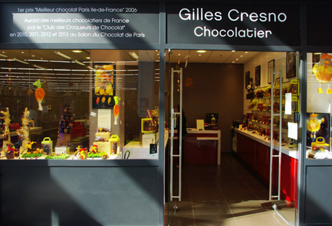 Chocolaterie Gilles Cresno Ccial Leclerc Mont-Valérien Nanterre