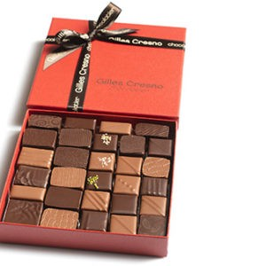 ballotin chocolats noel en ligne artisanale