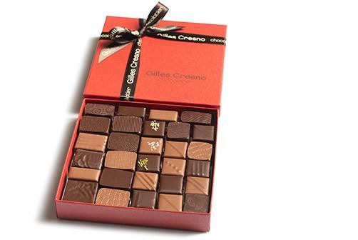 ballotin chocolats noel en ligne artisanale