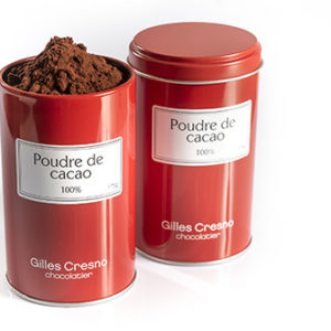 poudre de cacao artisanale