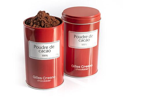 poudre de cacao artisanale