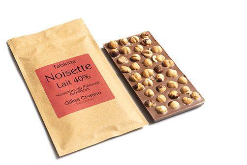 tablette chocolat noisette en ligne artisanale