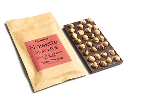 tablette noisette chocolat en ligne