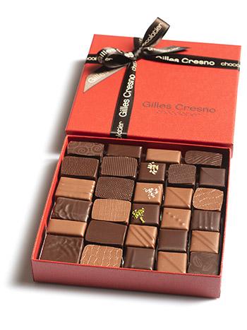 offrir chocolat noel