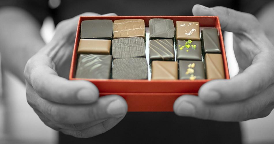 offrir chocolat artisanale noel