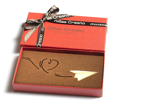 chocolat pour la saint valentin