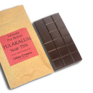 chocolat noir 75% tulakalum