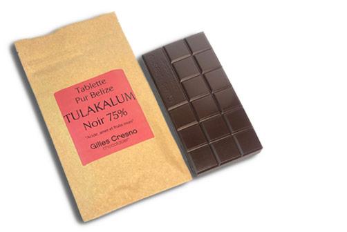 tablette chocolat noir livraison