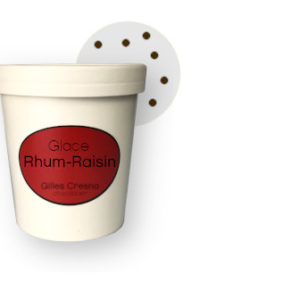 glace rhum-raisin