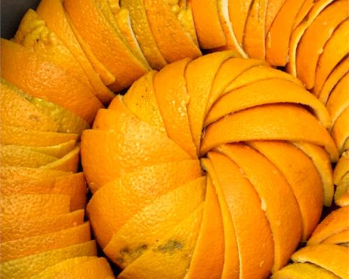 oranges confites bio chocolat noir